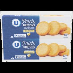 Palets bretons pur beurre U, 2x125g