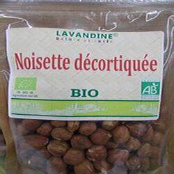 noisette décortiquées bio 125g