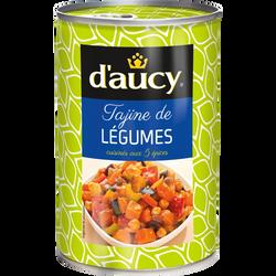 Tajine de légumes D'AUCY, 375g