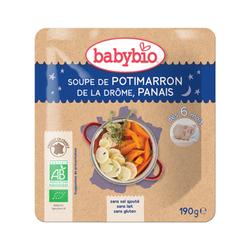 Poche Bonne nuit Soupe Potimarron panais BABYBIO dès 6 mois 190g