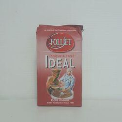 Café idéal moulu FOLLIET paquet 250g