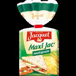 Pain de mie maxi multicéréales JACQUET, 550g