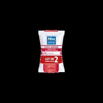 Mixa Crème Mains Cicatrisante Mixa, 2x50ml