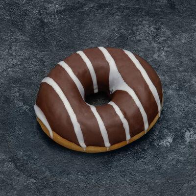 Donut fourré chocolat décongelé, 4 pièces, 265g