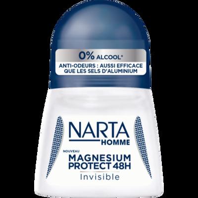 Déodorant homme magnésium protect 48h invisible 0% alcool NARTA, billede 50ml