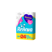 Renova Papier Hygiénique 3 Plis Skincare Renova 24 + 24