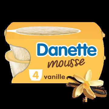 Danone Danette Mousse Vanille, 4x60g