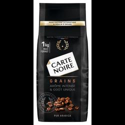 Café en grains CARTE NOIRE, 1kg