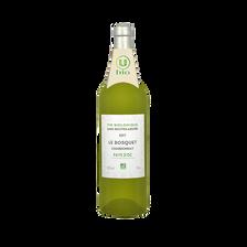 Vin blanc Pays d'OC IGP Chardonnay sans sulfites Le Bosquet U BIO