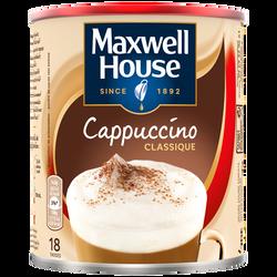 Cappuccino classique MAXWELL house, boîte en métal de 280g