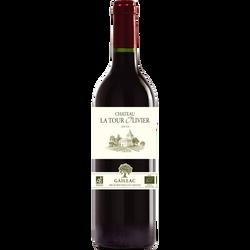 Gaillac AOP rouge Château La Tour Olivier bio 2016, 75cl