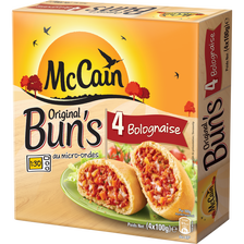 Original Bun's bolognaise MC CAIN, 4 pièces, 400g