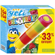 Yetigel Yeti 11 Bâtonnets Discofruit Yetigel +33% Offert