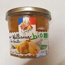 Confiture poire williams a la vanille bio, LUCIEN GEORGELIN, 320g