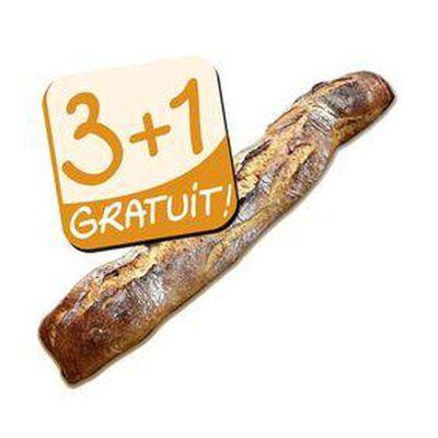 BAGUETTE LA CATALANE 3+1 GRATUITE