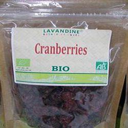 cranberries bio 125g