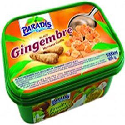 Crème glacée PARADIS 1L, parfum gingembre