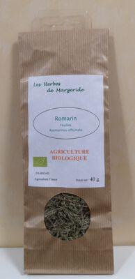 Infusion de romarin bio en feuilles LES HERBES DE MARGERIDE, sachet de 50g