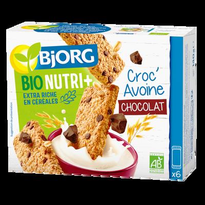 Biscuits à l'avoine et pépites de chocolat bio BJORG, 140g