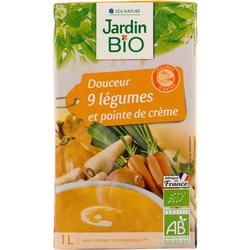Velouté 9 légumes Jardin Bio 1L