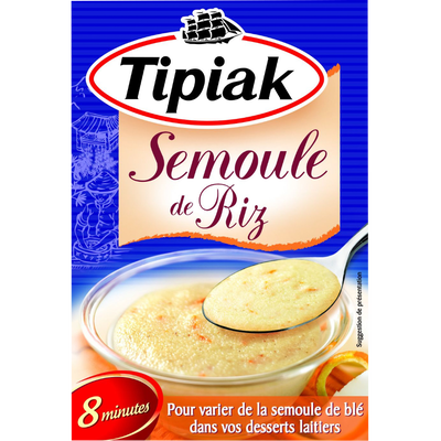Semoule de riz TIPIAK, 250g