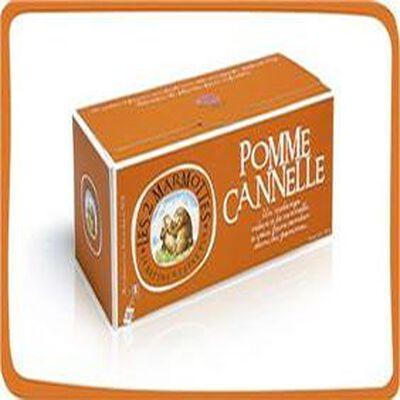Infusion Pomme Cannelle, LES 2 MARMOTTES, 30 Sachets