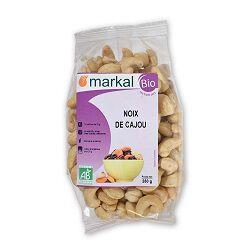 Noix de cajou BIO, MARKAL, le paquet de 250g