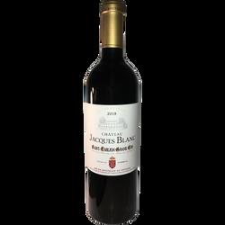 CVT Saint-Emilion grand cru AOP rouge Château Jacques Blanc HVE3 201875cl