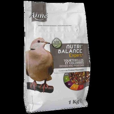 Nutri'balance expert tourterelles, AIME, 1kg