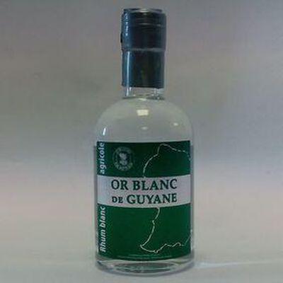 RHUM BLANC OR BLANC DE GUYANE 20CL
