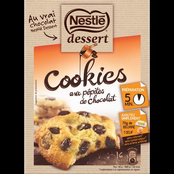 Nestlé Préparation Pour Cookies Aux Pépites De Chocolat Nestle Dessert, 351g