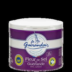 Fleur de sel LE GUERANDAIS, boîte de 125g