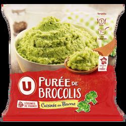 Purée de brocolis U, 750g