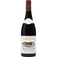 Vin rouge AOC Bourgogne Pinot noir Les Jardins de L'Evêché U, 75cl