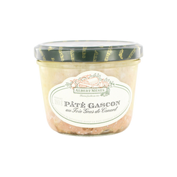 Pâté Gascon au foie gras de canard ALBERT MENES,180g