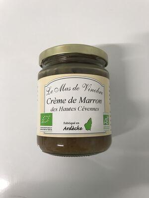 Crème de marron des hautes cevennes 320g Mas de Vinobre