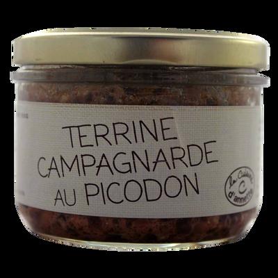 Terrine campagnarde au picodon CUISINE D'ANNETTE, 200g