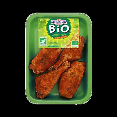 Cuisse de poulet déjointée à la provençale, BIO, MAITRE COQ, 6 pièces