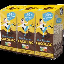 Cacolac Boisson Lait Chocolaté Arômatisé , Pack 3x20cl 600ml