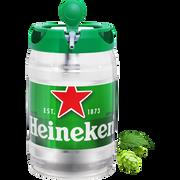 Heineken Bière Blonde Heineken, 5°, Mini Fût Pression De 5l