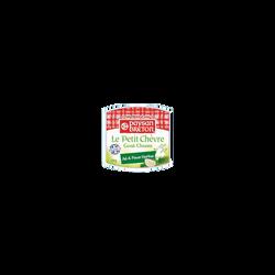 Bûchette de chèvre ail et fines herbes au lait pasteurisé PAYSAN BRETON, 22% de MG, 100g