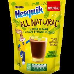 Boisson cacaotée au sucre de canne all natural NESQUIK , 168g