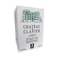 Chateau de Clapier Luberon Blanc bib 5l