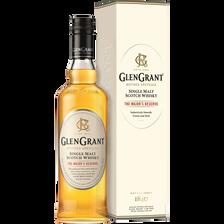 """Scotch whisky single malt """"The Major's Reserve"""" GLEN GRANT, 40°, bouteille de 70cl"""