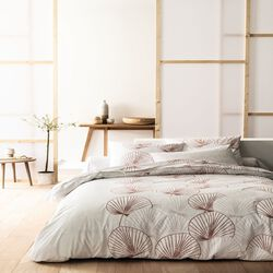 """TAIE D'OREILLER 50X70CM COTON PERCALE LIGNE """"AKIRA"""" THEME DOUCEUR NIPPONE (QUALITE PERCALE 78 FILS, IMPRIMEE ALL OVER HC, TO SAC)"""