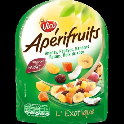 Mélange de graines et fruits APERIFRUITS Vert, 120g