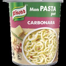 Mon pasta carbonara KNORR, pot de 71g