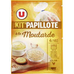 Kit papillote à la moutarde U, 33g