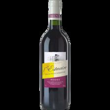 """Vin rouge de pays Charentais """"estuaire"""", 75cl"""