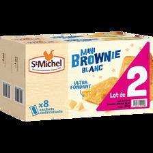 St Michel Mini Brownie Blanc Cocottes , 2 Paquets De 240g